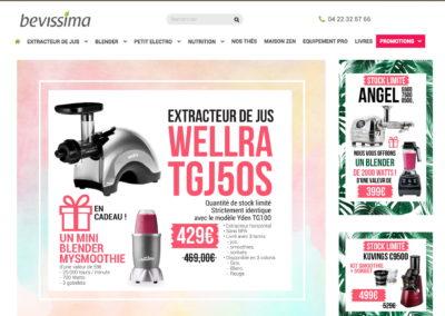 Bannières web – Bevissima