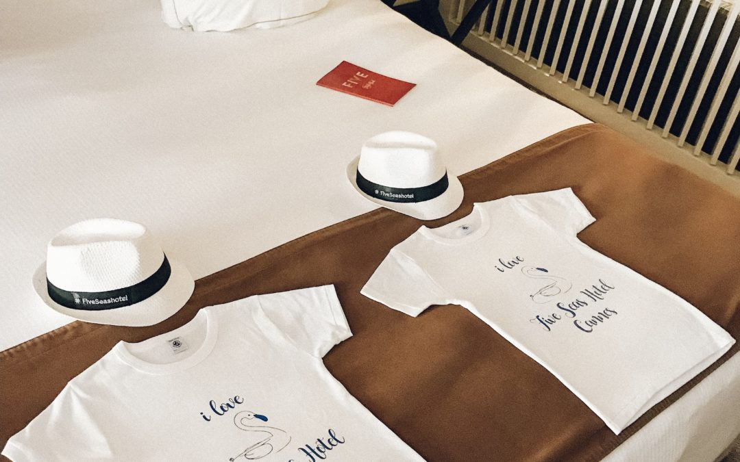 Design produit – T-shirt enfant – Five Seas Hotel 5*