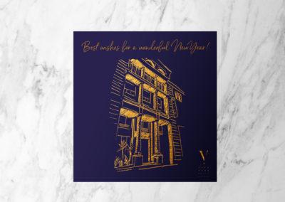 Carte de Voeux – Five Seas Hotel